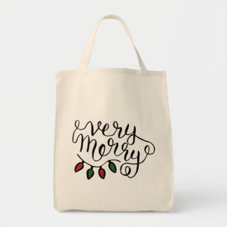 Very Merry Tote Bag