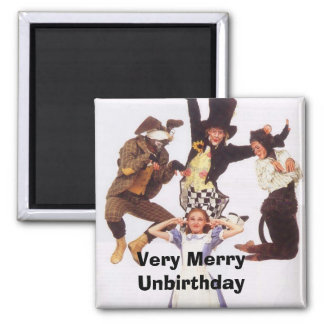 Very Merry Unbirthday Magnet