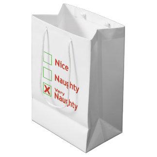 Very Naughty Medium Gift Bag