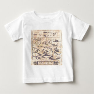 Very OLD map Baby T-Shirt