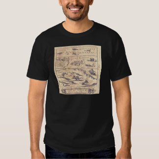 Very OLD map T Shirts