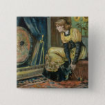 Very Precious Wishes For You, Victorian Christmas 15 Cm Square Badge