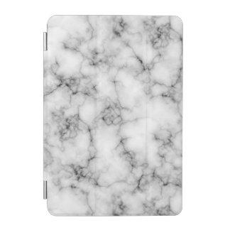 Very realistic White Marble natural stone iPad Mini Cover