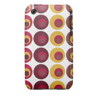 Very Retro polka dots iPhone Case iPhone 3 Cases