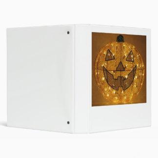 Very Scary Halloween Pumpkin Binder