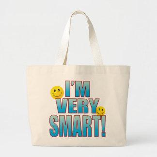 Very Smart Life B Large Tote Bag