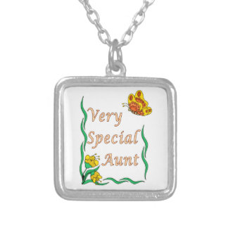 Very Special Aunt Butterfly Necklaces