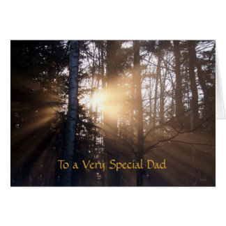 Very Special Dad Greeting Card