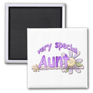 Very Special Great Aunt Flower Fridge Magnets