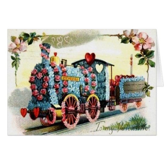 Very Special Vintage Valentine Card