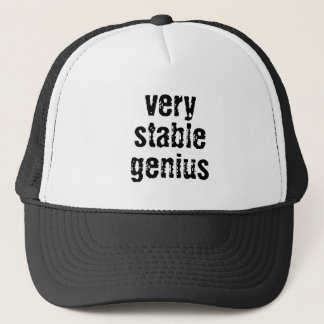 Very Stable Genius Trucker Hat
