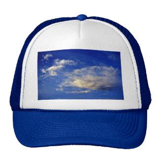 Very structured cloud in a beautiful blue sky cap