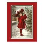 Very Stunning Vintage Christmas Card Post Cards