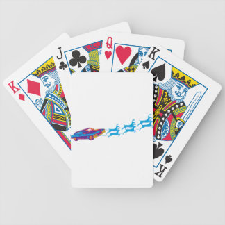 Very Supernaturnal Christmas Bicycle Playing Cards