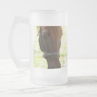 Very Sweet Chestnut Horse Coffee Mugs