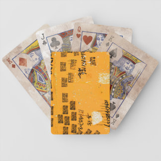 Very Unique Cool Urban Bicycle Playing Cards