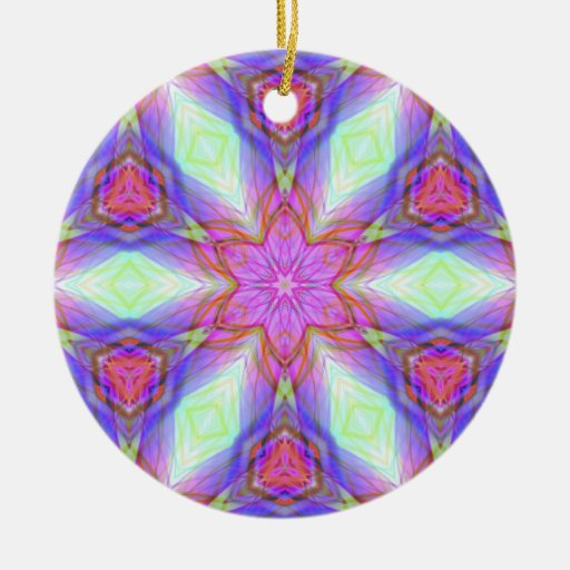 Very unique gift, LED light pattern Christmas Tree Ornament