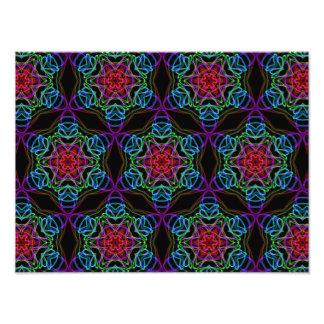 Very unique gift, LED light pattern Art Photo
