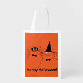 Very, Very Orange Halloween Cats