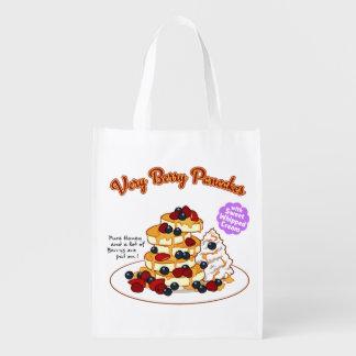 < Very very the pancake > Very berry pancakes
