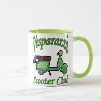 Vesparazzi Scooter Club Mug