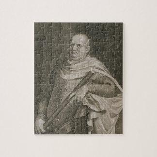 Vespasian (9-79 AD) Emperor of Rome 69-79 AD engra Jigsaw Puzzle