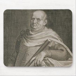 Vespasian (9-79 AD) Emperor of Rome 69-79 AD engra Mouse Pad