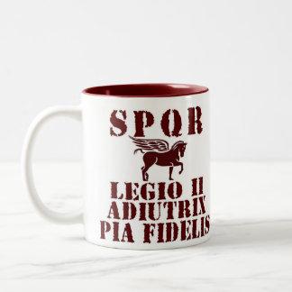Vespasian s 2nd Roman Legion Pegasus Coffee Mug