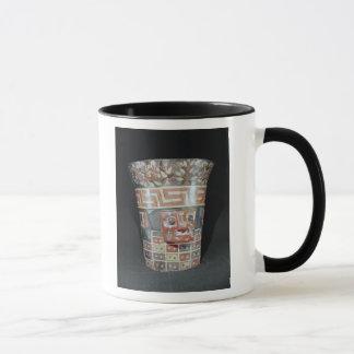 Vessel depicting corn yams and animals mug