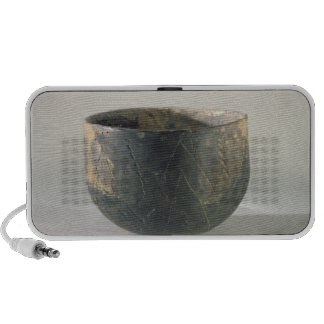 Vessel with a ribbon-style decoration notebook speaker