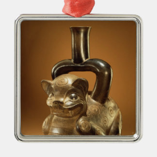 Vessel with puma, Chavin Culture, c.90 BC Christmas Ornament