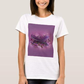 Vest Top T-Shirt - Purple Fairys Feather
