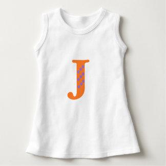 Vest top with letter j