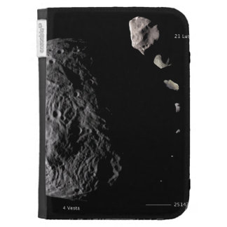 Vesta and Asteroid Gallery Cases For The Kindle