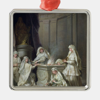 Vestal Virgins, 1727 Christmas Ornament