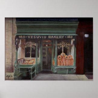 Vesuvio Bakery NYC Poster