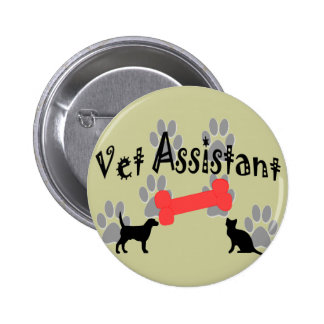 Vet Assistant Gifts 6 Cm Round Badge
