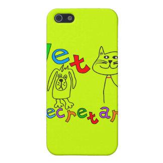 Vet Secretary Gifts, Veterinary Office Secretary iPhone 5 Cases