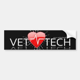 vet tech bumper sticker