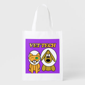 vet tech cat and dog ecollar design reusable bag