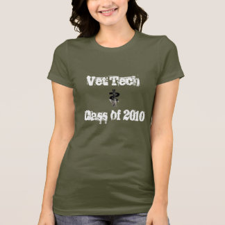 Vet Tech Class of 2010 T-Shirt