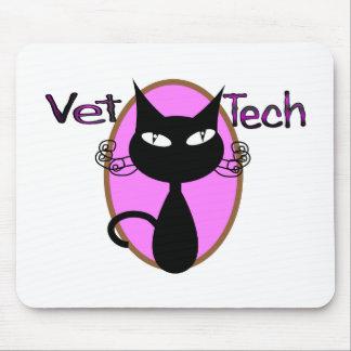 "Vet Tech Gifts  ""Adorable Cat Design"" Mouse Pad"