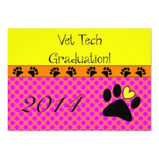 Vet Tech Graduation Invitations