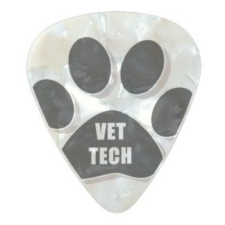 vet tech guitar pick black pearl celluloid guitar pick