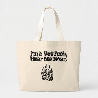 Vet Tech - Hear Me Roar! Jumbo Tote Bag