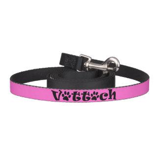 vet tech leash pink