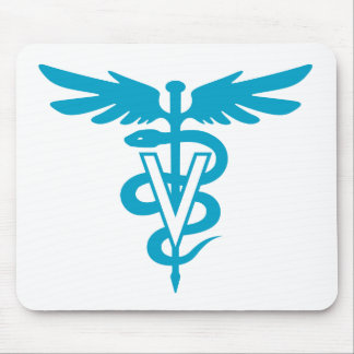 Vet Tech - Veterinary Symbol Mouse Pad