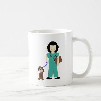 Vet with Dog Coffee Mug