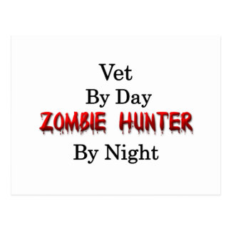 Vet/Zombie Hunter Postcard