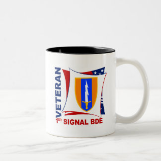 Veteran - 1st Sig Bde Coffee Mugs